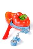 Roter frischer Paprika. Lizenzfreie Stockbilder