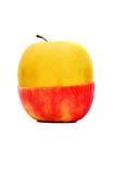Roter gelber Apple Stockbilder
