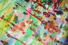 Roter gelber schlammiger wächserner klarer Hintergrund in den klaren Farben Stockfotos