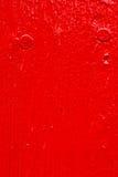 Roter gemalter Vorstand Stockfotografie