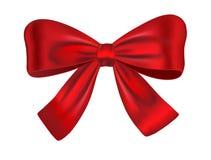 Roter Geschenkbogen Lizenzfreie Stockfotografie