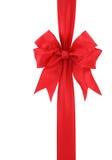 Roter Geschenkbogen Stockfotografie
