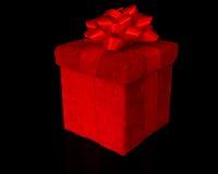 Roter Geschenkkasten Lizenzfreie Stockfotografie