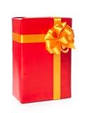 Roter Geschenkkasten Lizenzfreies Stockfoto