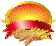 Roter Getreidekennsatz Stockbilder