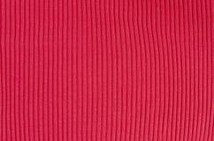Roter Gewebebeschaffenheitshintergrund Stockfotos