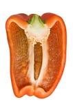 Roter grüner Pfeffer. stockfoto