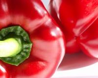 Roter grüner Pfeffer Stockbilder
