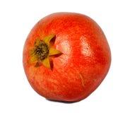 Roter Granatapfel auf weißem Hintergrund. Lizenzfreies Stockfoto