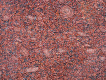 Roter Granit Lizenzfreies Stockfoto