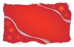Roter grunge Hintergrund, Vektor stockbilder