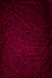 Roter grunge Leder-Beschaffenheitshintergrund Stockfotografie