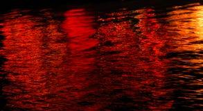 Roter Hafen Stockbild