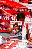 Roter Hemd-Stall Stockbild