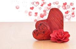 Roter Herz Royaltyfri Bild