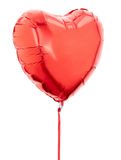 Roter Herzballon Lizenzfreies Stockbild