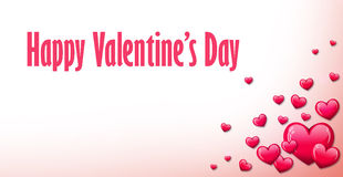 Roter Herzhintergrund für Valentinsgrußtag Lizenzfreie Stockfotos