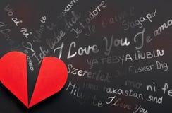 Fassen Sie Ich Liebe Dich In Den Verschiedenen Sprachen