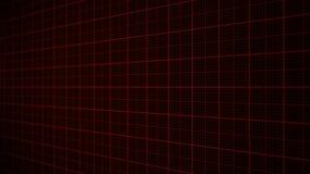 roter Herzmonitor der Animation 3D eines Mannes in der Liebe stock footage