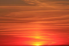 Roter Himmel Stockfotos