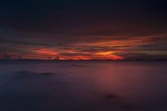 Roter Himmel Stockfotografie
