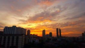 Roter Himmel lizenzfreie stockfotografie