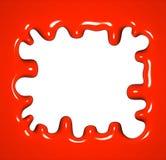 Roter Hintergrund. Stockfotografie