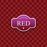 Roter Hintergrund lizenzfreie abbildung