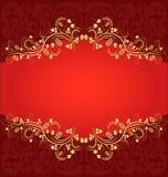 Roter Hintergrund Lizenzfreies Stockfoto