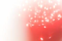 Roter Hintergrund, abstrakte bokeh Licht-Feierunschärfe Stockfoto