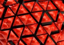 Roter Hintergrund 3D Stockfotografie