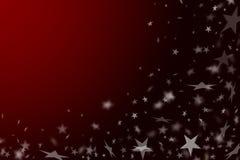 Roter Hintergrund des neuen Jahres. lizenzfreie stockbilder