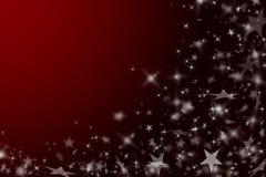 Roter Hintergrund des neuen Jahres. lizenzfreie stockfotografie