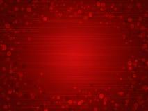 Roter Hintergrund für Valentinstag Stockfoto
