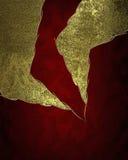 Roter Hintergrund mit abstrakten Elementen Element für Entwurf Schablone für Entwurf kopieren Sie Raum für Anzeigenbroschüre oder Stockfotografie