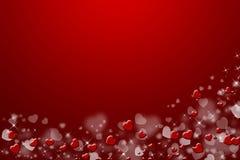 Roter Hintergrund, mit Inneren. stockfoto