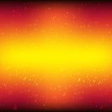 Roter Hintergrund und Sterne stock abbildung