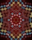 Roter Hintergrund von Blumen Element für Entwurf Schablone für Entwurf kopieren Sie Raum für Anzeigenbroschüre oder Mitteilungsei Lizenzfreie Stockbilder