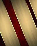 Roter Hintergrund von gelben Streifen Element für Entwurf Schablone für Entwurf kopieren Sie Raum für Anzeigenbroschüre oder Mitt Lizenzfreie Stockfotografie