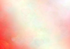 Roter Hintergrund von Herzen Stockfotos