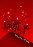 Roter Hintergrundvektor Lizenzfreies Stockbild