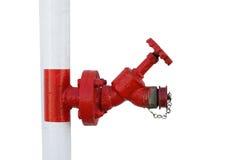 Roter Hydrant Stockfotos