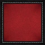 Roter körniger Papierhintergrund Lizenzfreie Stockfotos