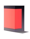 Roter Kasten lizenzfreie stockfotos