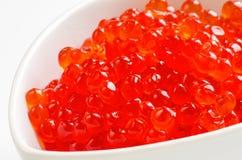 Roter Kaviar Stockfotos