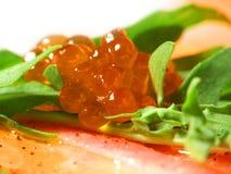 Roter Kaviar Stockfoto