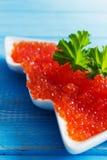 Roter Kaviar Stockbild
