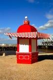 Roter Kiosk Lizenzfreie Stockbilder