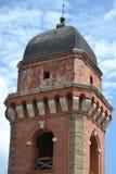 Roter Kirchturm Lizenzfreie Stockbilder