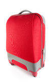 Roter Koffer Stockbild
